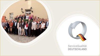 Neugestaltung der Stufe III von ServiceQualität Deutschland