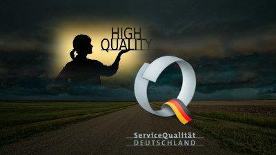 Optimierung der Stufe II von ServiceQualität Deutschland