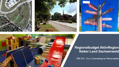 Verwaltungstechnische Umsetzung Regionalbudget der AktivRegion Sieker Land Sachsenwald